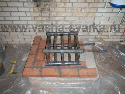 Кирпичная печь с водяным отоплением своими руками